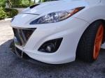 Velocity Factor - MazdaSpeed3 Front Splitter