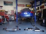 before the scorpion exhaust was put in, after the factory one was taken out