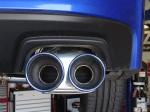 Invidia Q300 Catback Titanium Exhaust Tips.