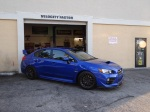 2015 STI with performance bolt-on upgrades professionally installed by Velocity Factor