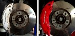 Direct comparison of  the difference our Caliper Magic service makes